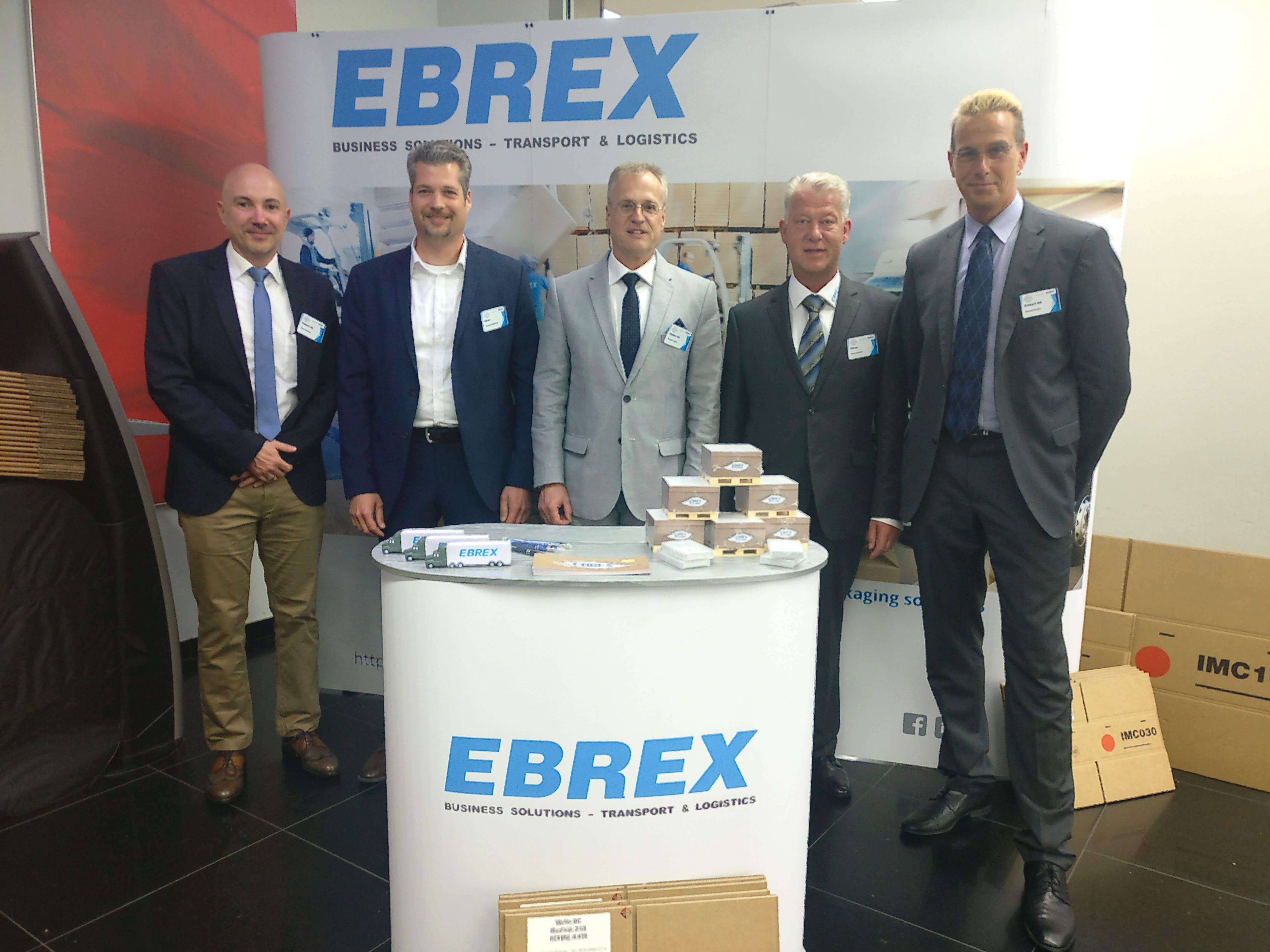 Ebrex Packaging Solutions beim europäischen Logistiktag